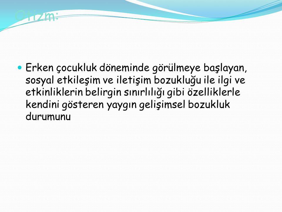 Otizm: