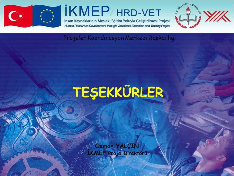 Osman YALÇIN İKMEP Proje Direktörü