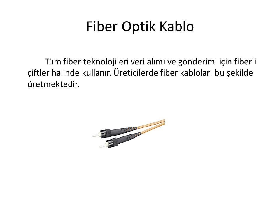 Fiber Optik Kablo