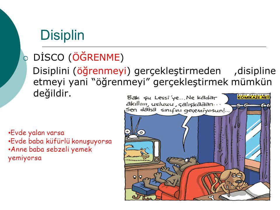Disiplin DİSCO (ÖĞRENME)