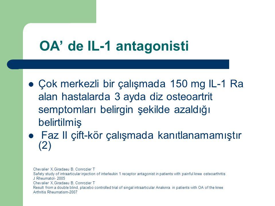 OA' de IL-1 antagonisti