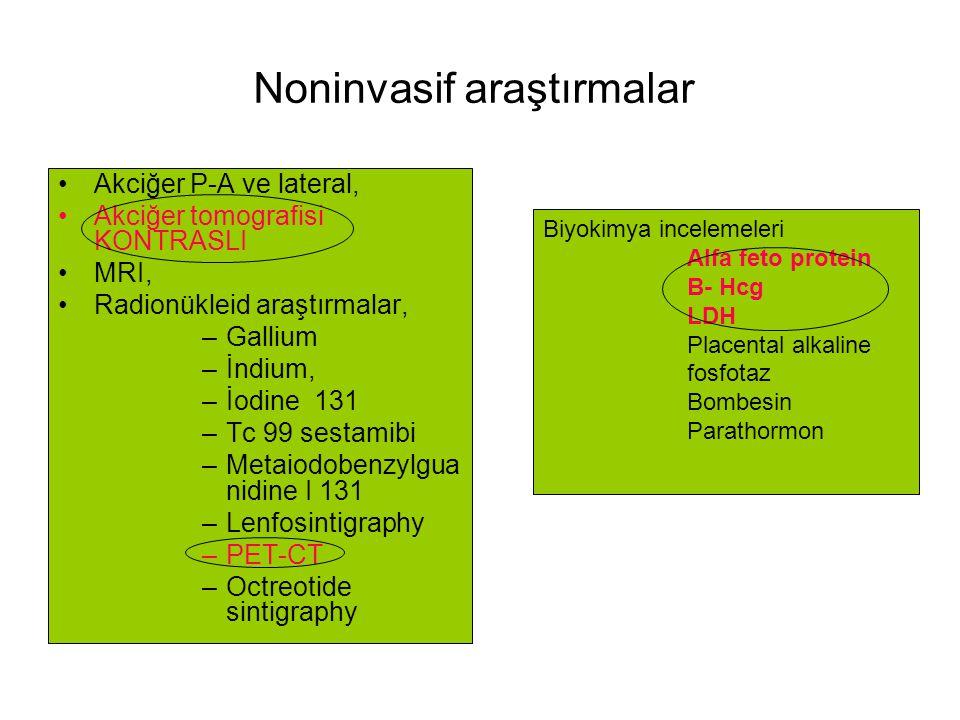Noninvasif araştırmalar