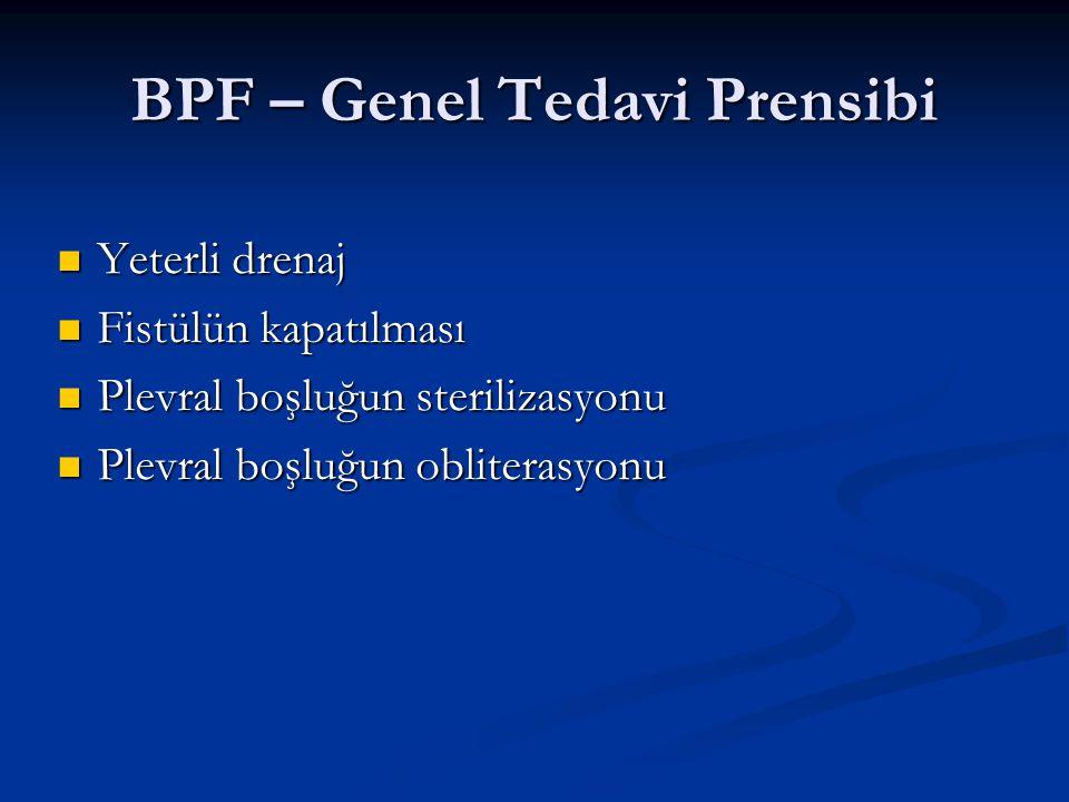 BPF – Genel Tedavi Prensibi