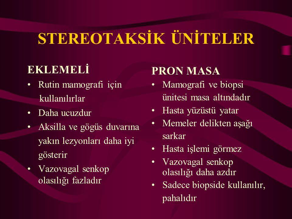STEREOTAKSİK ÜNİTELER