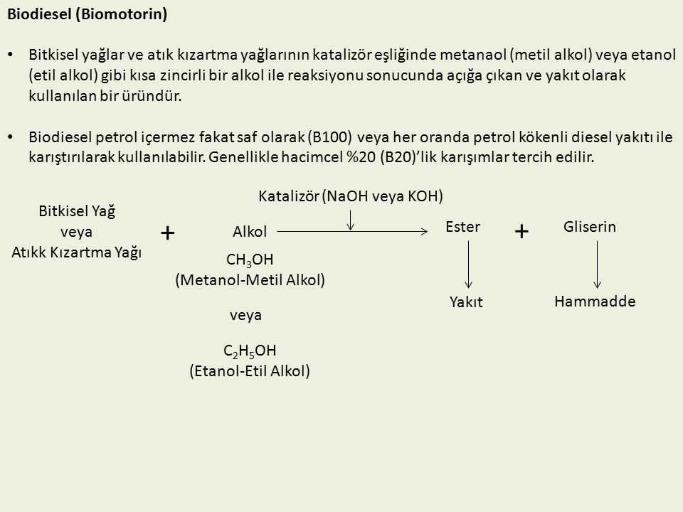 + + Biodiesel (Biomotorin)
