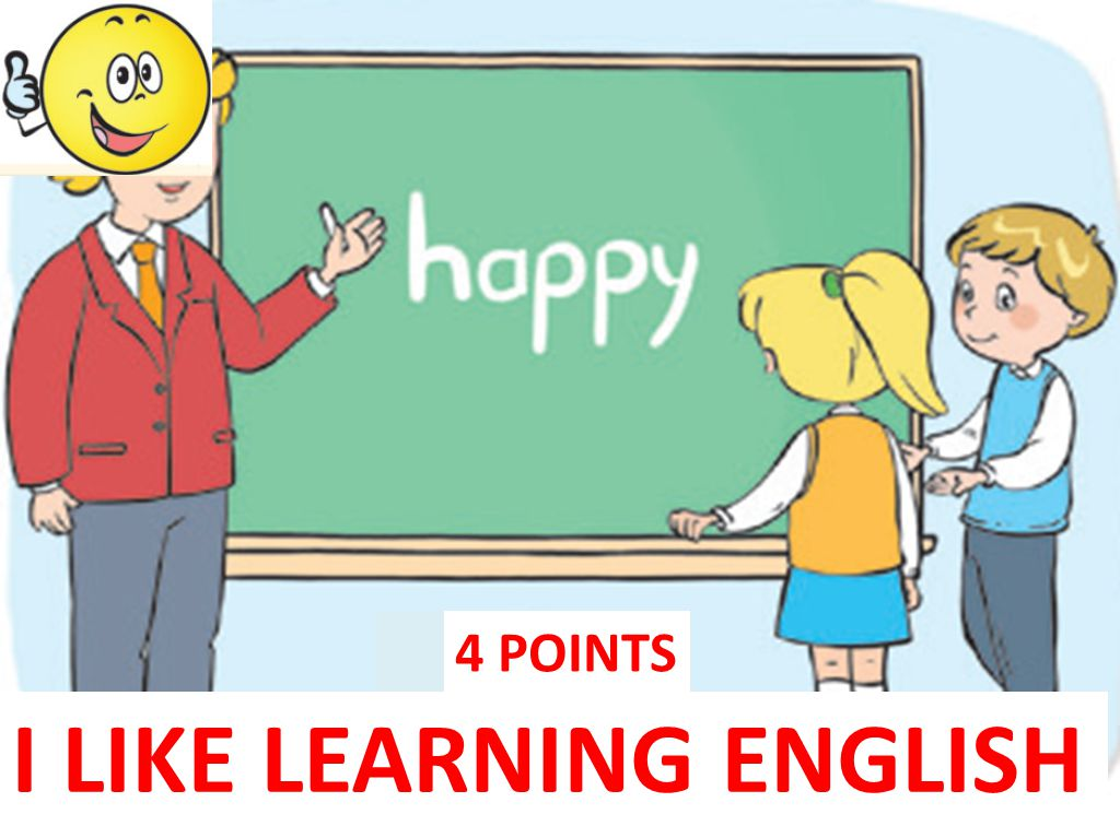 I LIKE LEARNING ENGLISH