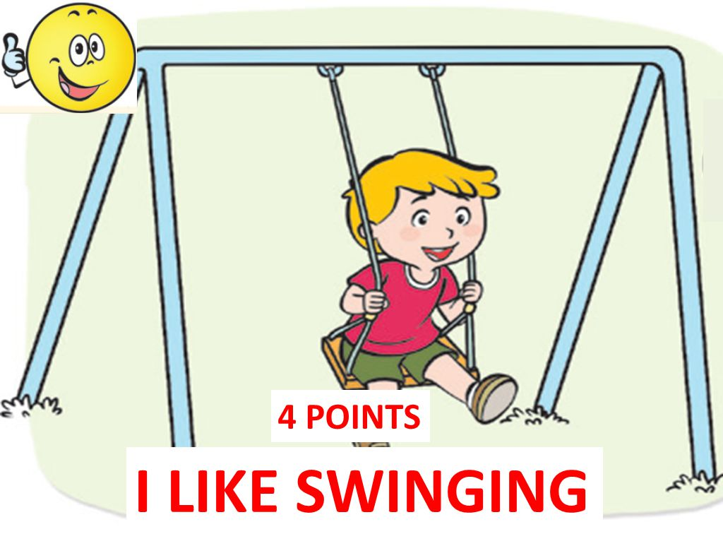 4 POINTS I LIKE SWINGING