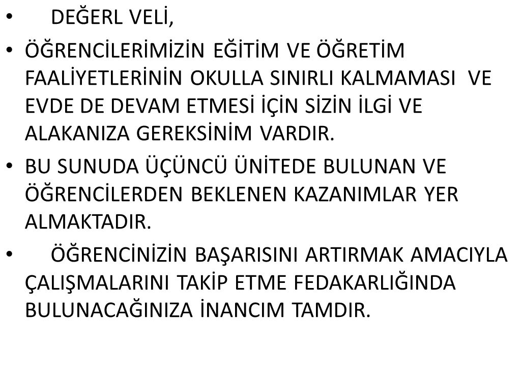 DEĞERL VELİ,
