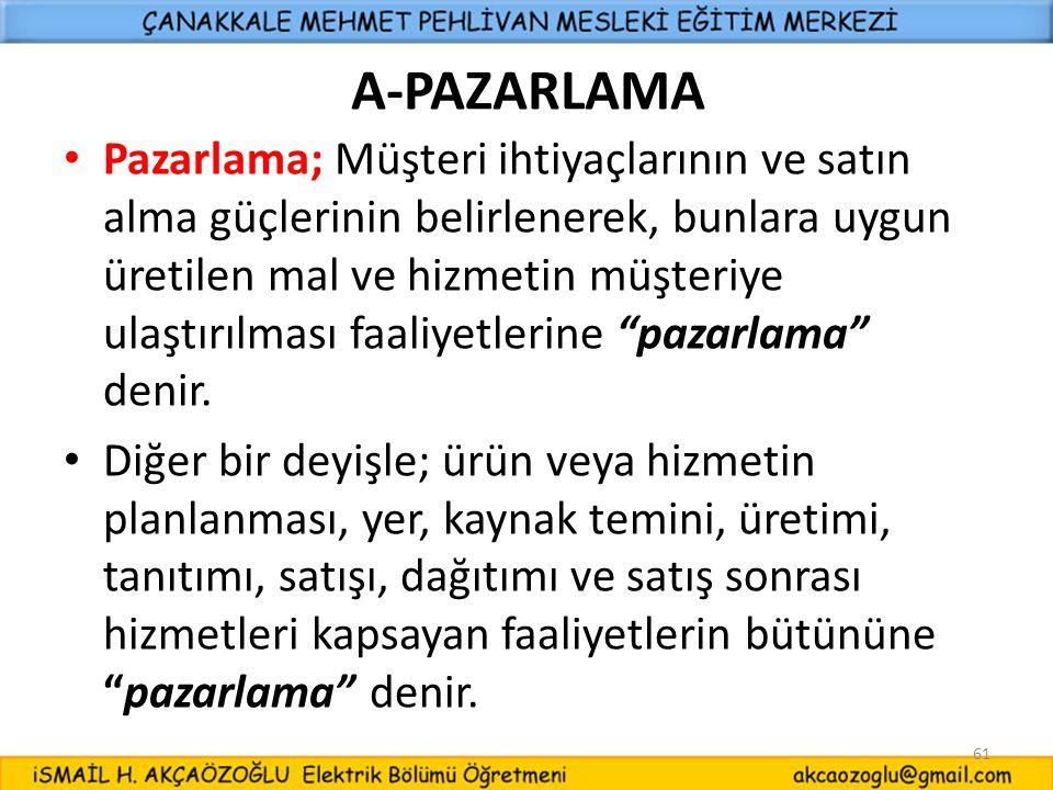 A-PAZARLAMA
