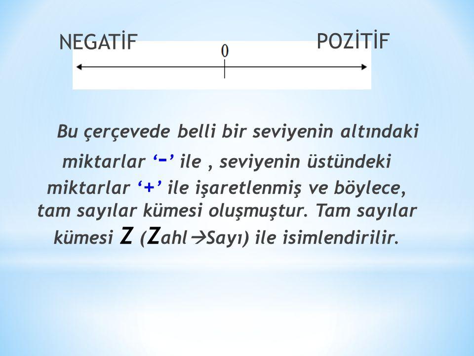 NEGATİF POZİTİF.