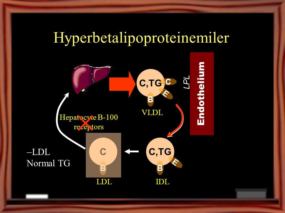 Hyperbetalipoproteinemiler