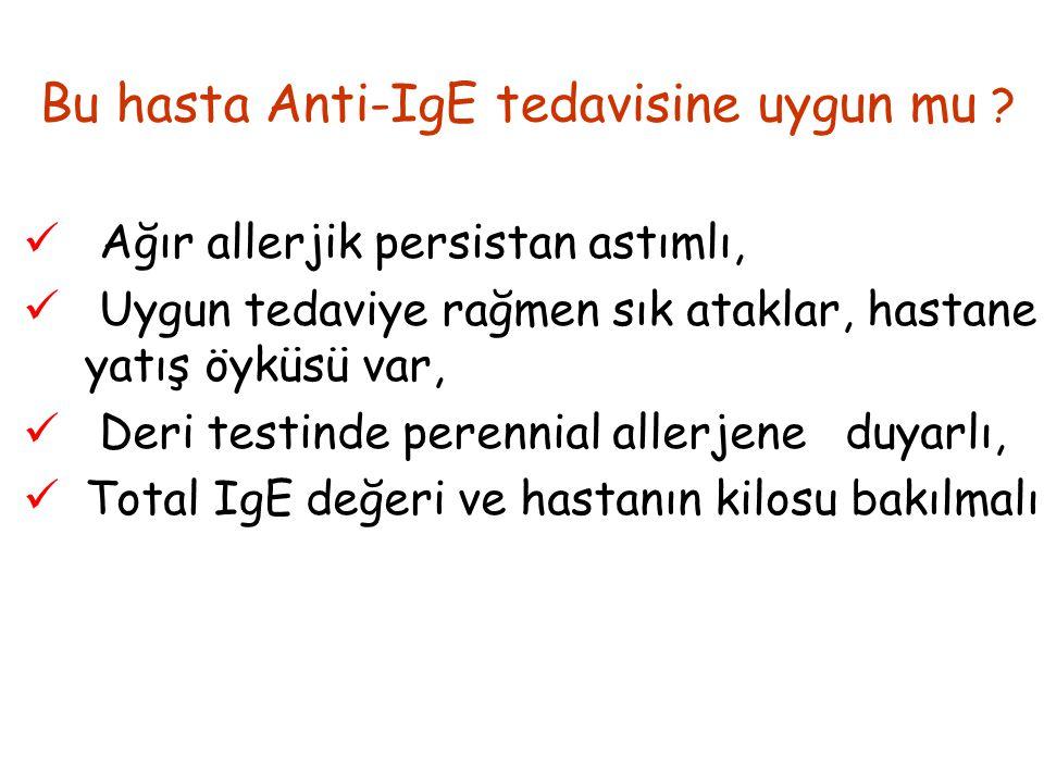 Bu hasta Anti-IgE tedavisine uygun mu