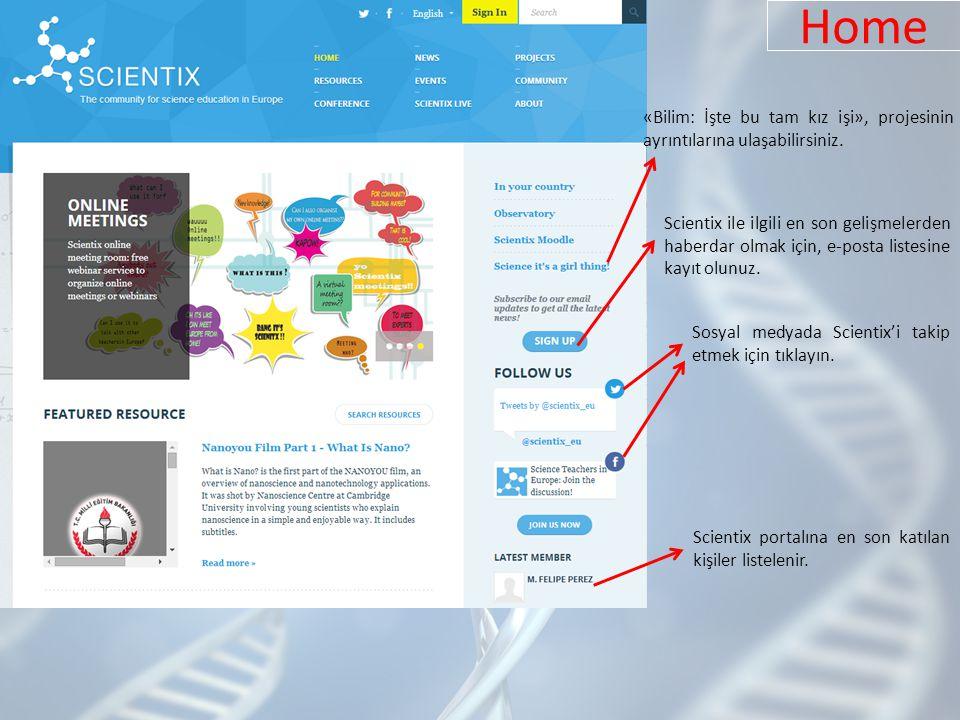 Home «Bilim: İşte bu tam kız işi», projesinin ayrıntılarına ulaşabilirsiniz.