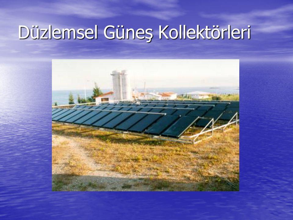 Düzlemsel Güneş Kollektörleri