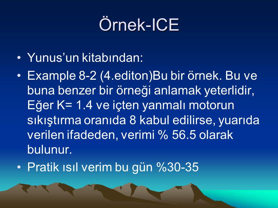 Örnek-ICE Yunus'un kitabından: