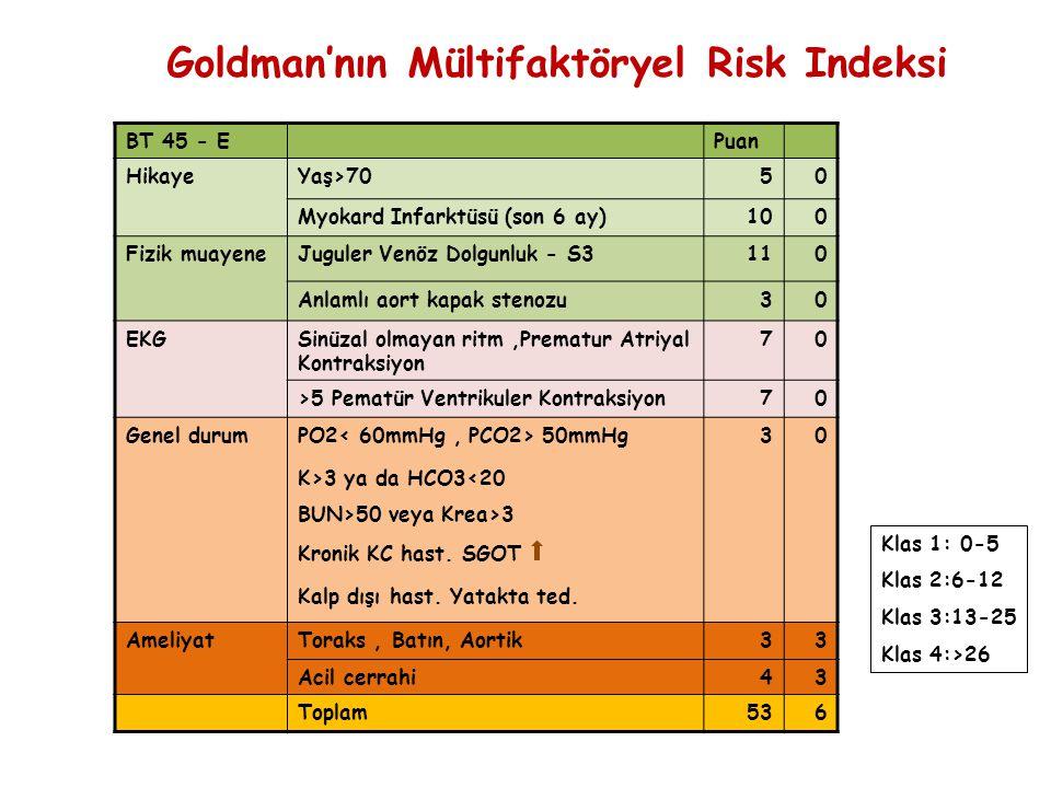 Goldman'nın Mültifaktöryel Risk Indeksi