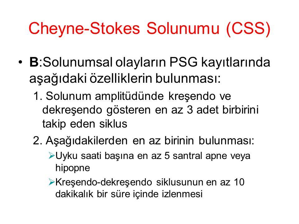 Cheyne-Stokes Solunumu (CSS)
