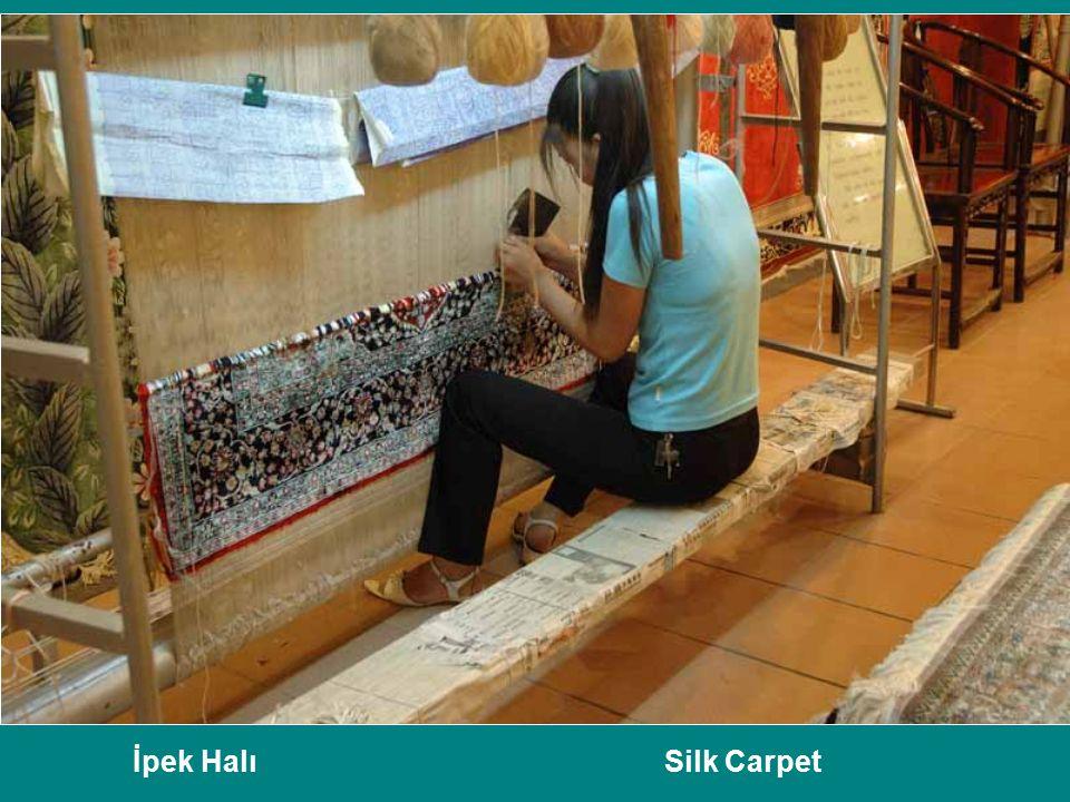 İpek Halı Silk Carpet