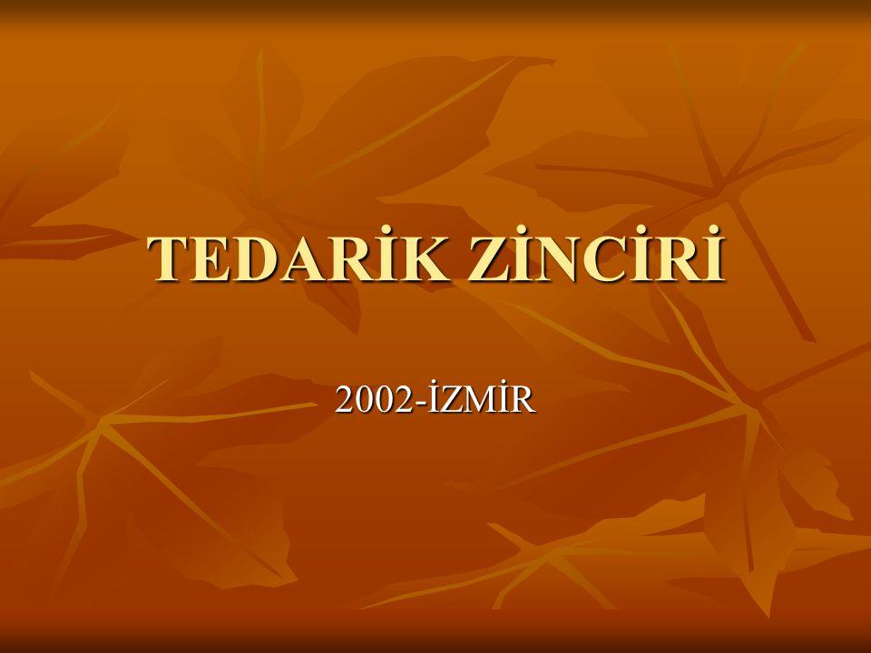 TEDARİK ZİNCİRİ 2002-İZMİR