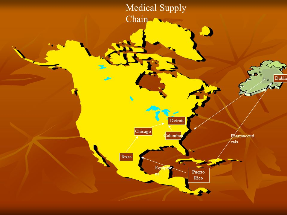Medical Supply Chain Dublin Detroit Chicago Columbus Pharmaceuticals