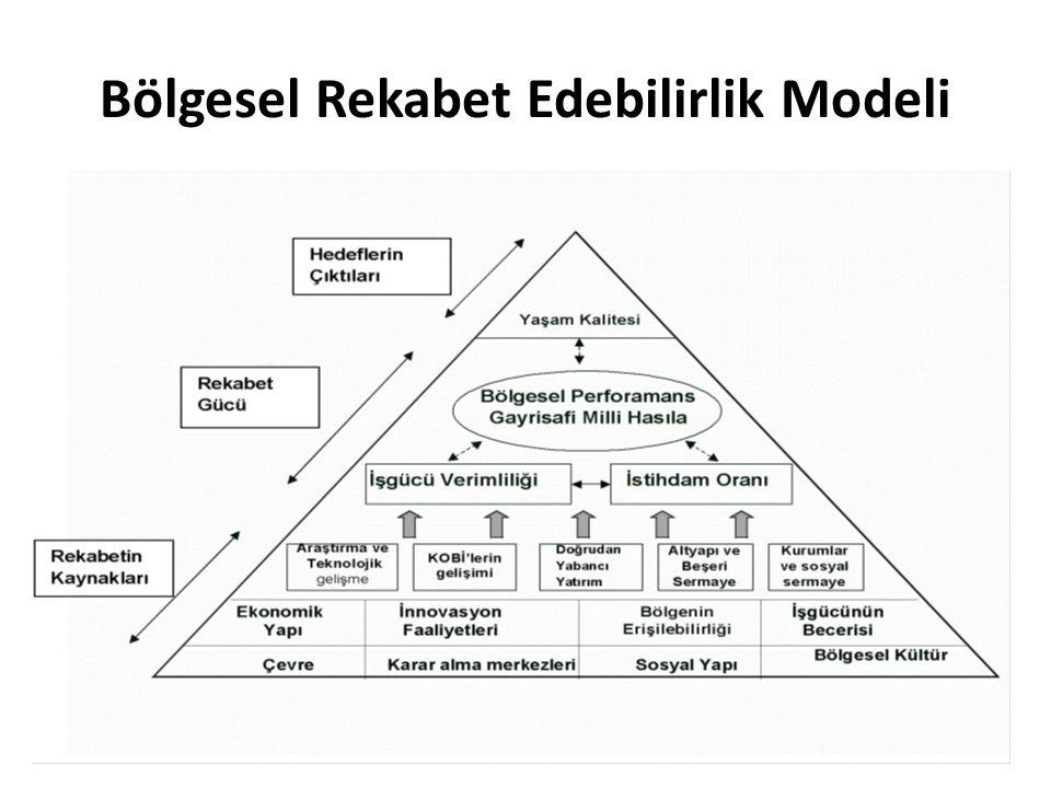 Bölgesel Rekabet Edebilirlik Modeli