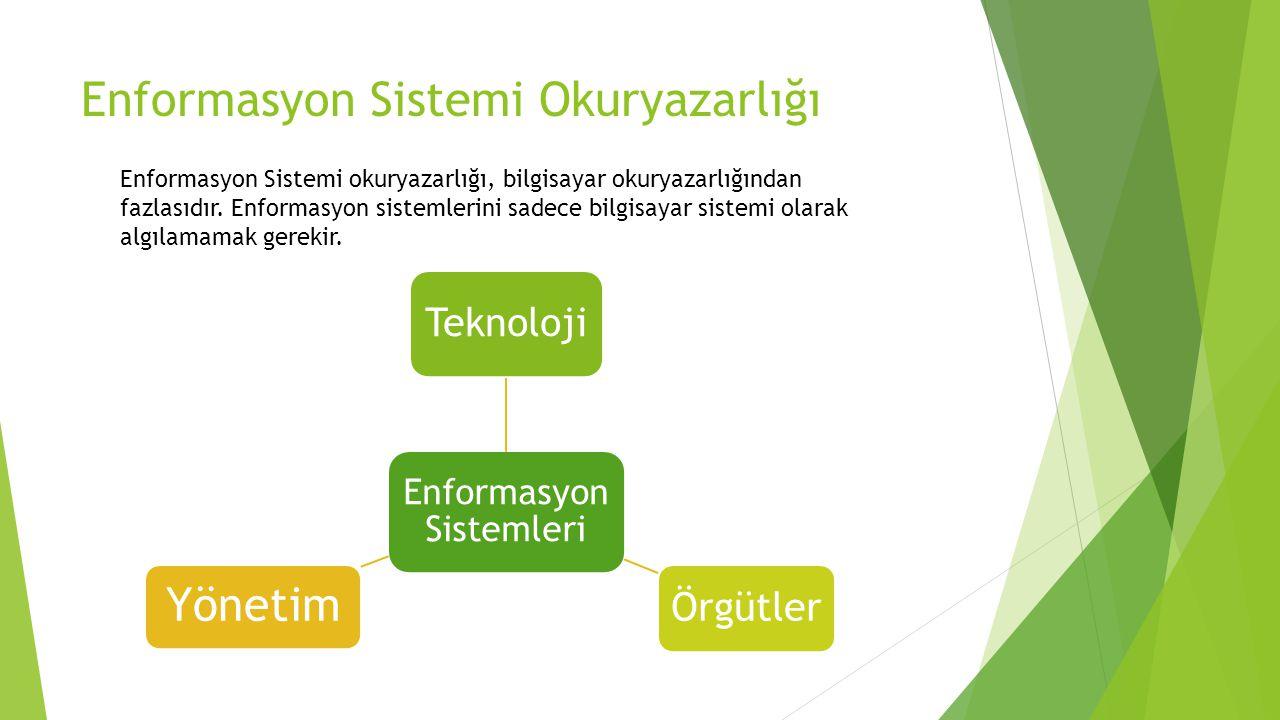 Enformasyon Sistemi Okuryazarlığı
