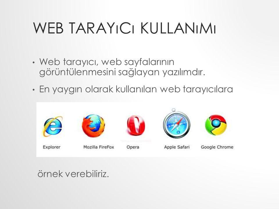Web Tarayıcı Kullanımı