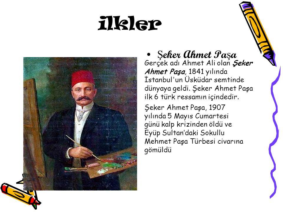 ilkler Şeker Ahmet Paşa