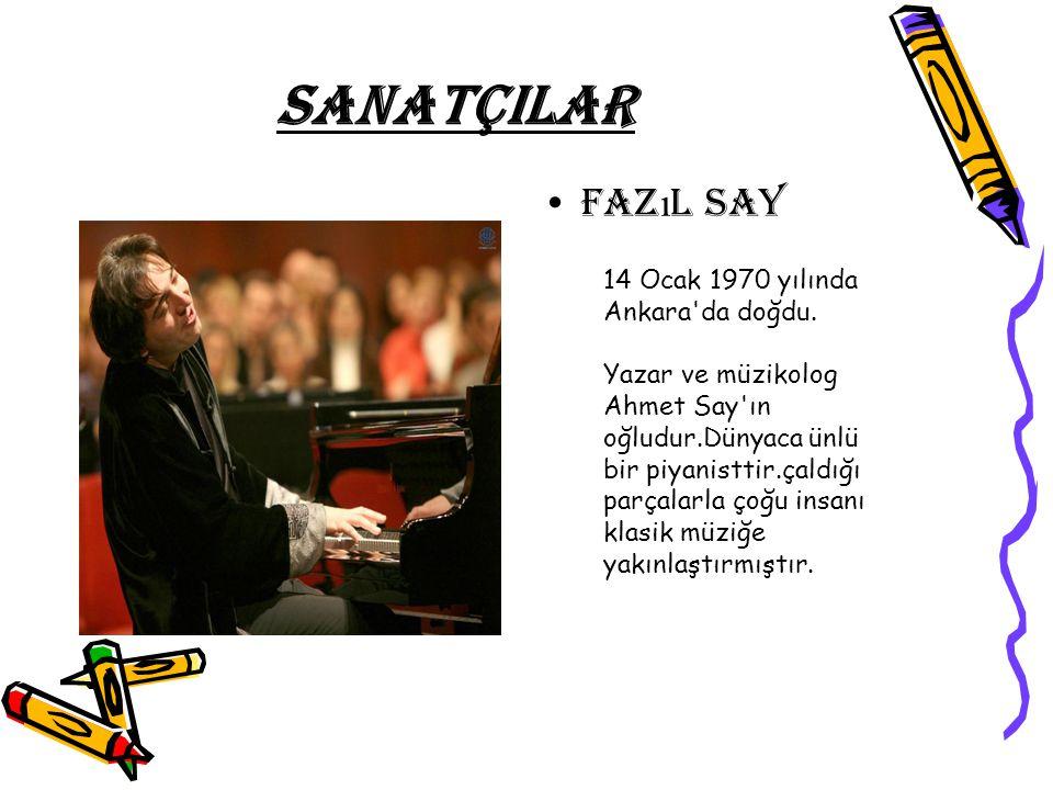 SANATÇILAR Fazıl say.