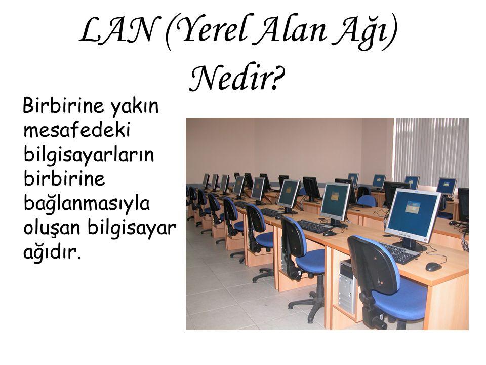 LAN (Yerel Alan Ağı) Nedir
