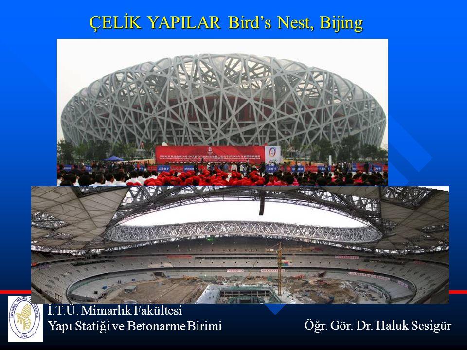 ÇELİK YAPILAR Bird's Nest, Bijing