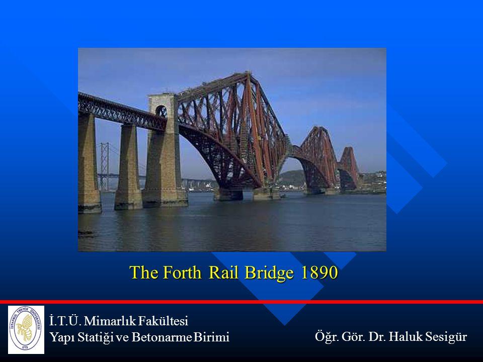 The Forth Rail Bridge 1890 İ.T.Ü. Mimarlık Fakültesi