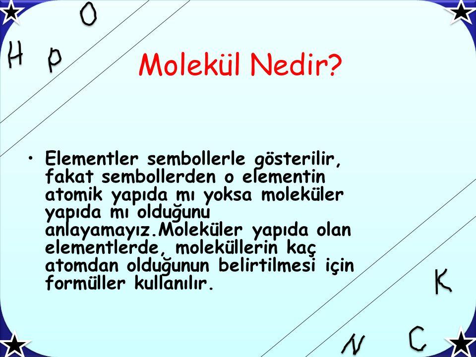 Molekül Nedir