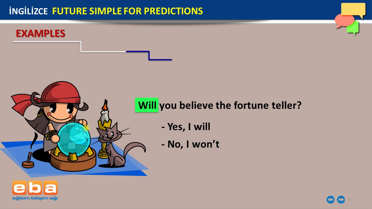Will you believe the fortune teller