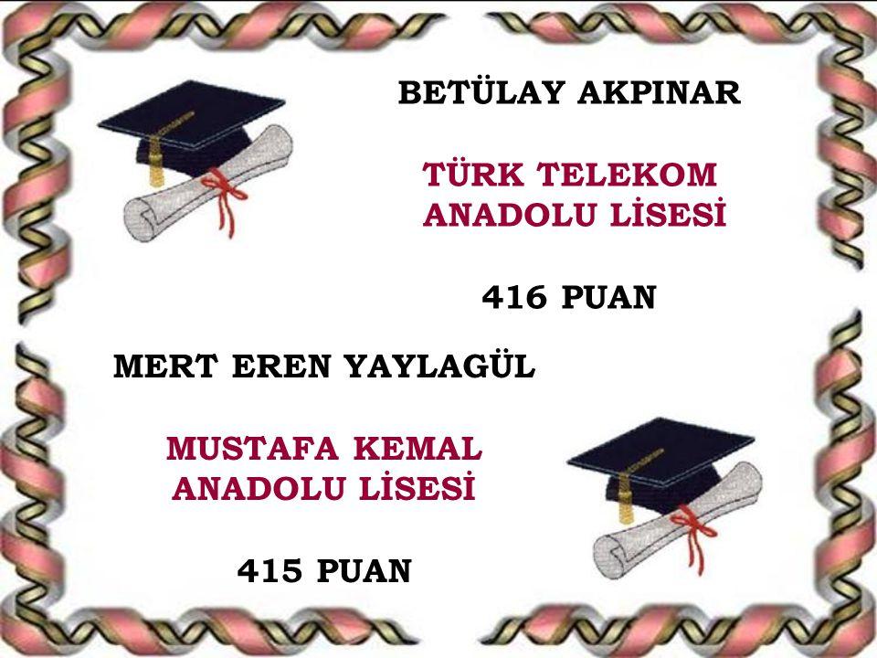 MUSTAFA KEMAL ANADOLU LİSESİ