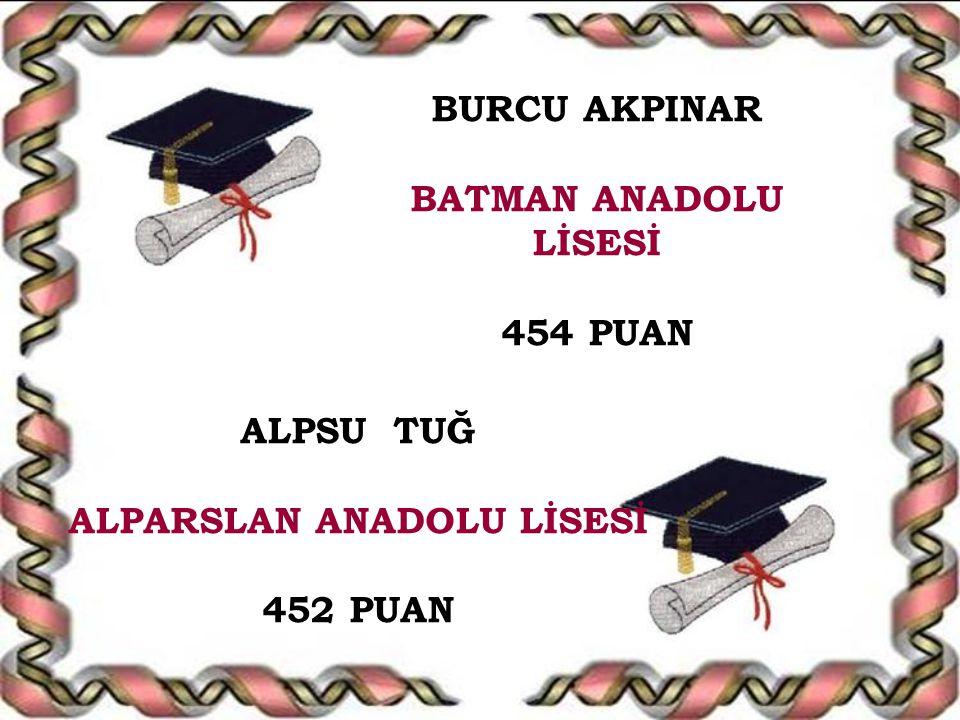 ALPARSLAN ANADOLU LİSESİ