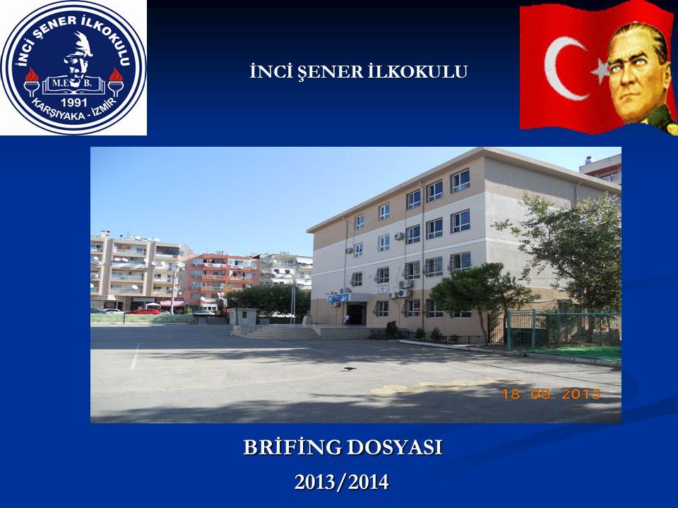 İNCİ ŞENER İLKOKULU BRİFİNG DOSYASI 2013/2014