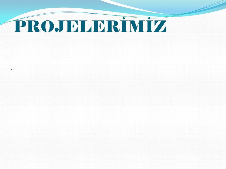 PROJELERİMİZ .