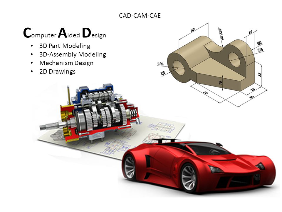 Computer Aided Design CAD-CAM-CAE 3D Part Modeling