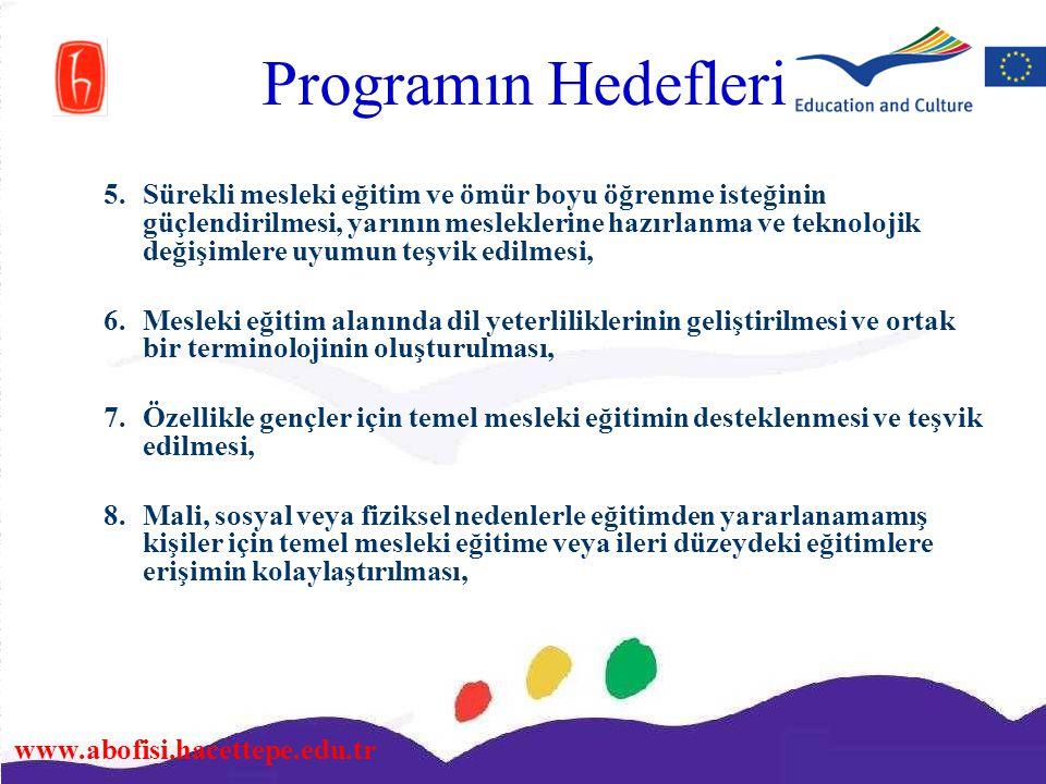 Programın Hedefleri
