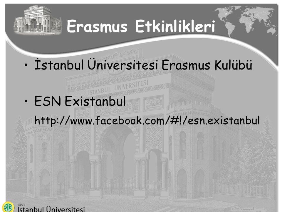 Erasmus Etkinlikleri İstanbul Üniversitesi Erasmus Kulübü