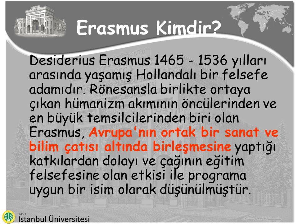 Erasmus Kimdir