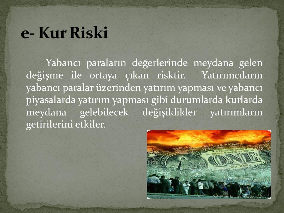 e- Kur Riski