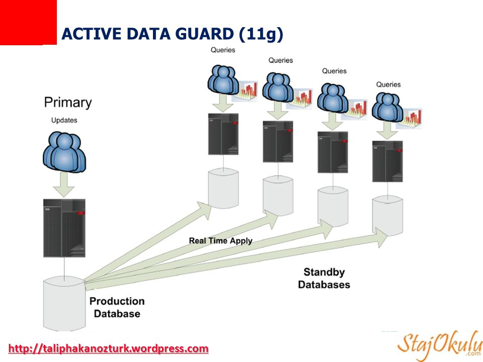ACTIVE DATA GUARD (11g) http://taliphakanozturk.wordpress.com