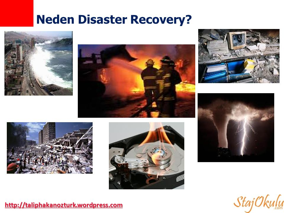 Neden Disaster Recovery