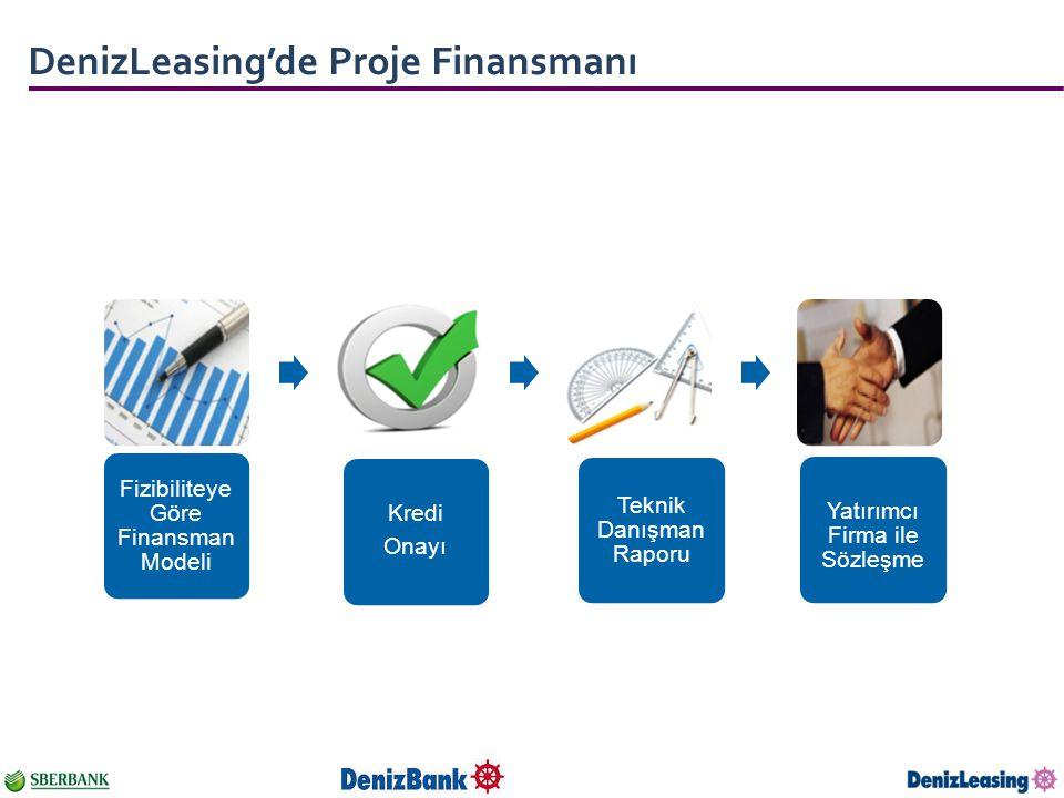 DenizLeasing'de Proje Finansmanı