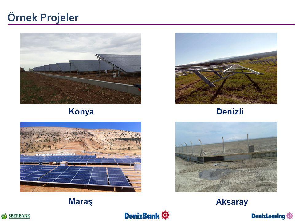 Örnek Projeler Konya Denizli Maraş Aksaray