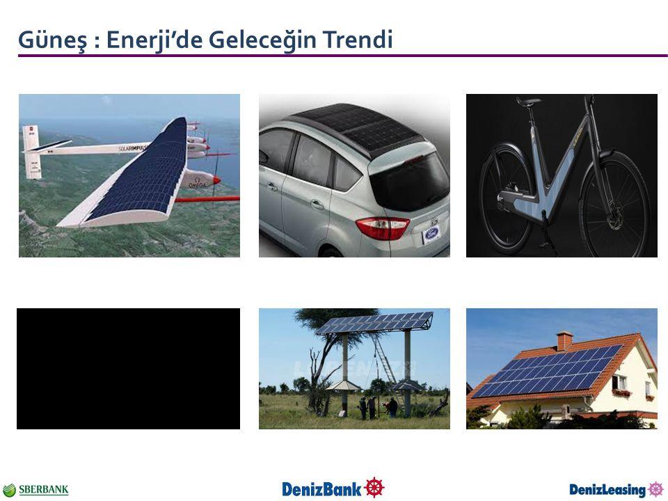Güneş : Enerji'de Geleceğin Trendi