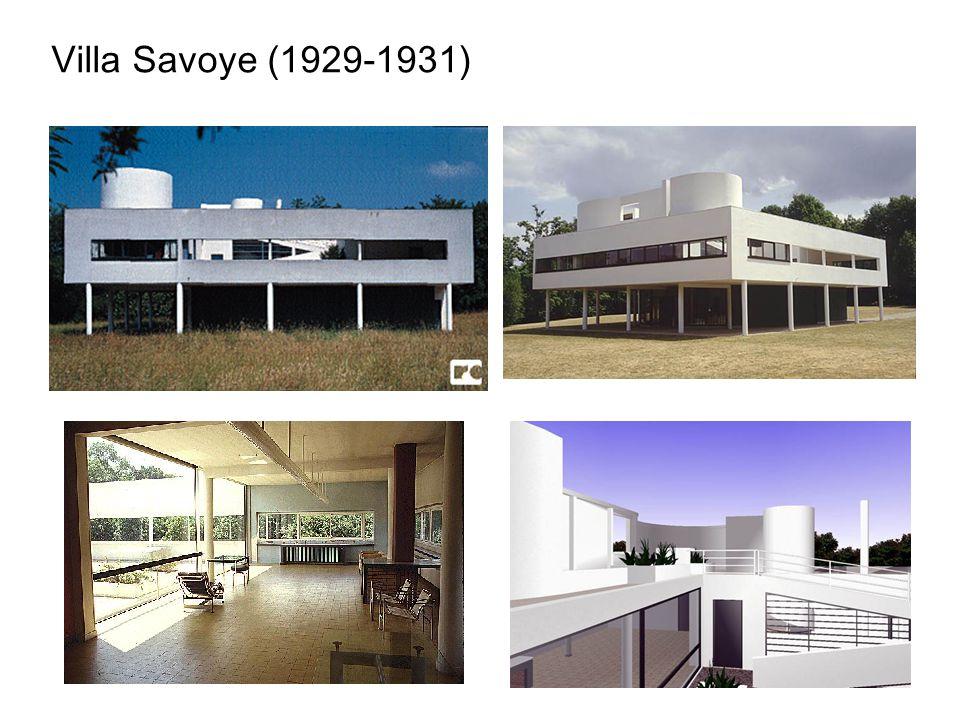 Villa Savoye (1929-1931)
