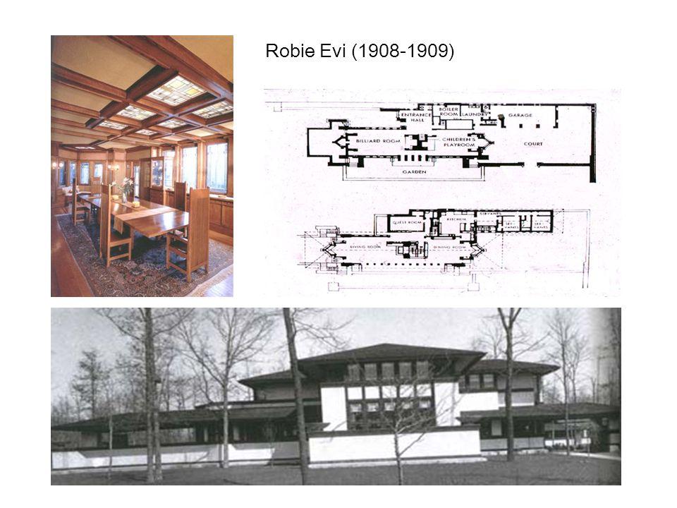 Robie Evi (1908-1909)